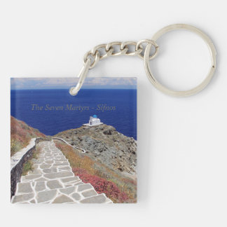 The Seven Martyrs – Sifnos Acrylic Keychain
