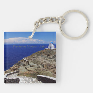 The Seven Martyrs – Sifnos Keychain