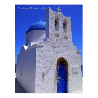 The Seven Martyrs – Sifnos Post Card