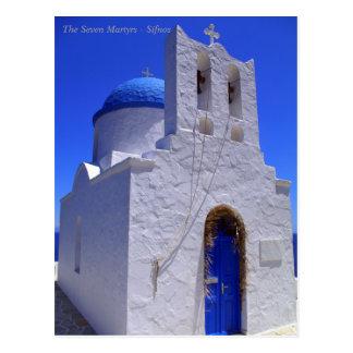 The Seven Martyrs – Sifnos Postcard