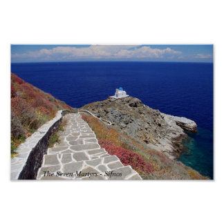 The Seven Martyrs – Sifnos Print