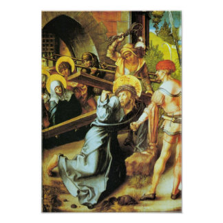 The seven Mary's pain - Crucifiction by Durer Poster