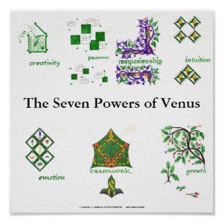 The Seven Powers of Venus Poster
