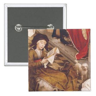 The Seven Sacraments Altarpiece 2 Button