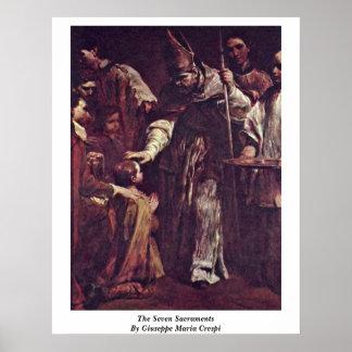 The Seven Sacraments By Giuseppe Maria Crespi Print