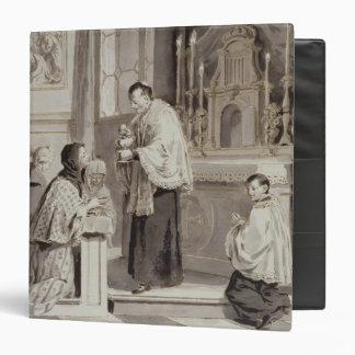 The Seven Sacraments: Communion, 1779 (pen, brown Binder
