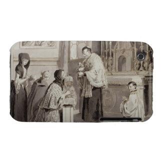 The Seven Sacraments: Communion, 1779 (pen, brown iPhone 3 Covers