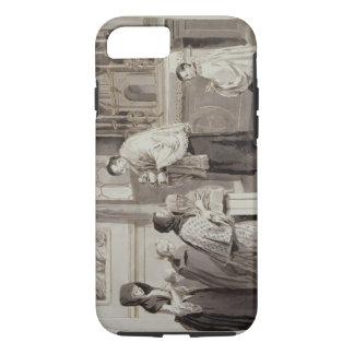 The Seven Sacraments: Communion, 1779 (pen, brown iPhone 8/7 Case