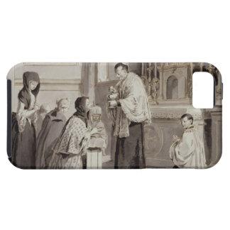 The Seven Sacraments: Communion, 1779 (pen, brown iPhone SE/5/5s Case