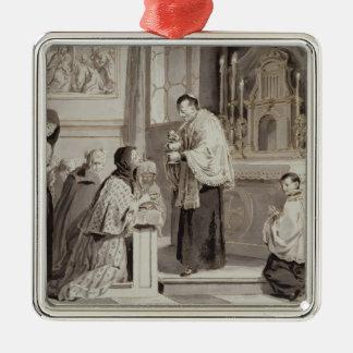 The Seven Sacraments: Communion, 1779 (pen, brown Metal Ornament