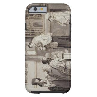 The Seven Sacraments: Communion, 1779 (pen, brown Tough iPhone 6 Case