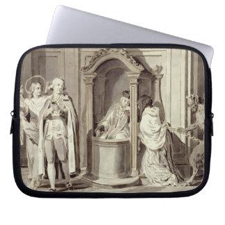 The Seven Sacraments: Confession, 1779 (pen, brown Computer Sleeve