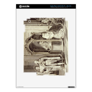 The Seven Sacraments: Confession, 1779 (pen, brown Decal For iPad 3