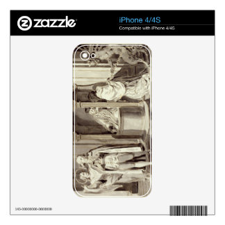 The Seven Sacraments: Confession, 1779 (pen, brown Decals For The iPhone 4