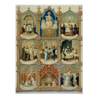 The Seven Sacraments Poster