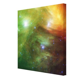 The Seven Sisters, also known as the Pleiades Canvas Print