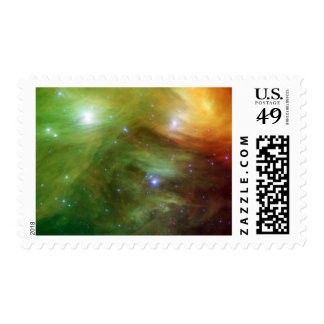 The Seven Sisters, also known as the Pleiades Postage Stamp