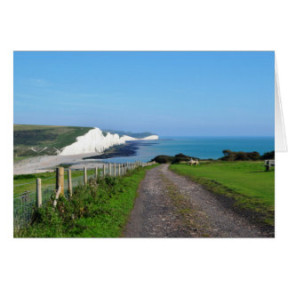 The Seven Sisters & Cuckmere Haven Greeting Card