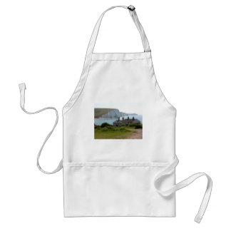The Seven Sisters, Cuckmere Haven, Sussex Adult Apron
