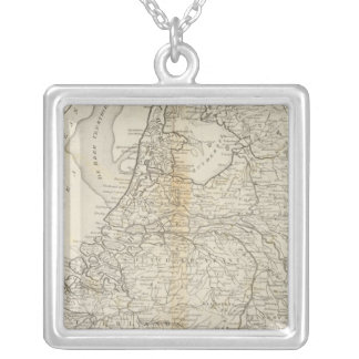 The Seven United Provinces of Holland 2 Silver Plated Necklace