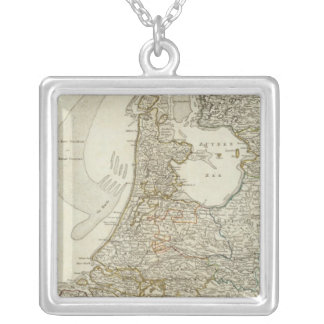 The Seven United Provinces Silver Plated Necklace