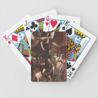 The Seven Works of Mercy by Caravaggio Bicycle Playing Cards