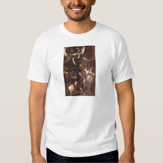 The Seven Works of Mercy by Caravaggio Tee Shirt