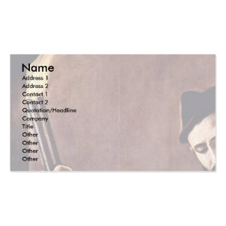 The Seven Works Of Mercy Detail By Michelangelo Me Double-Sided Standard Business Cards (Pack Of 100)