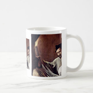 The Seven Works Of Mercy Detail By Michelangelo Me Classic White Coffee Mug