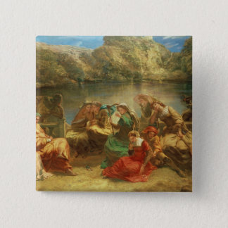 The Seventh day of the Decameron Pinback Button