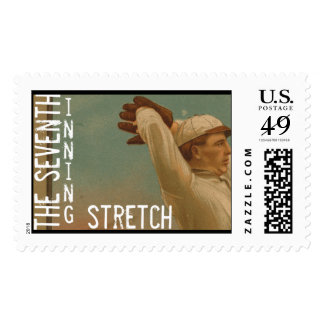 The Seventh Inning Stretch Postage Stamp