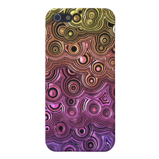 The Seventies Trippy Design Cover For iPhone 5