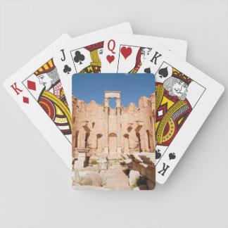 The Severan Basilica, Leptis Magna, Al Khums 2 Playing Cards