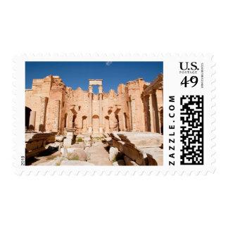 The Severan Basilica, Leptis Magna, Al Khums 2 Postage
