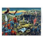 The severe battle of Teh-li-sz  by Kasai,Torajirō Card
