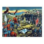 The severe battle of Teh-li-sz  by Kasai,Torajirō Postcard