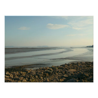 The Severn Estuary Near Cardiff Bay Poster