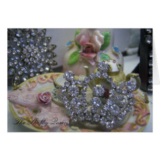The Shabby Queen ~ Vintage Crown Note Cards