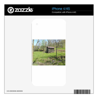 The Shack iPhone 4S Decal
