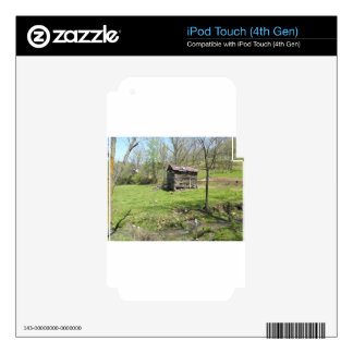 The Shack iPod Touch 4G Skin