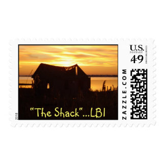 """""""The Shack""""  Long Beach Island Stamps"""