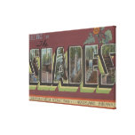 The Shades - Large Letter Scenes Canvas Print