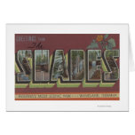 The Shades - Large Letter Scenes Card