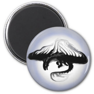 The Shadow in the Light 2 Inch Round Magnet