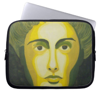 The Shadow Knows Laptop Sleeve
