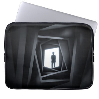 The Shadow Man Laptop Sleeve