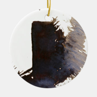 The shadow of the monolith ceramic ornament