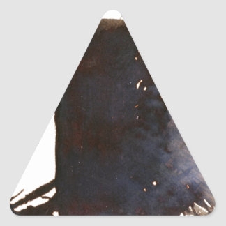 The shadow of the monolith triangle sticker