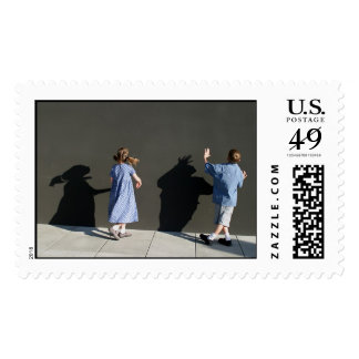 The Shadow Wall Stamp