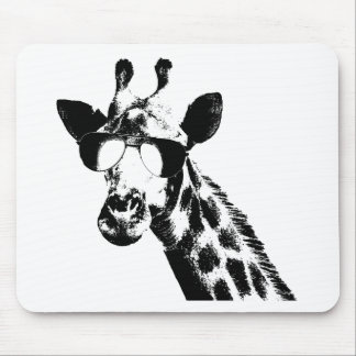 The Shady Giraffe Mouse Pad